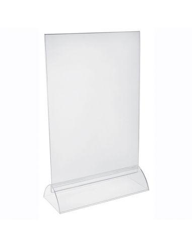 chevalet plastique PVC recto/verso