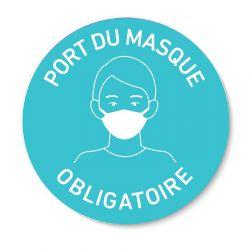 Sticker vitrophanie Gestes de Protection