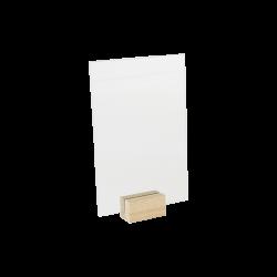 Chevalet plexi sur mini socle bois