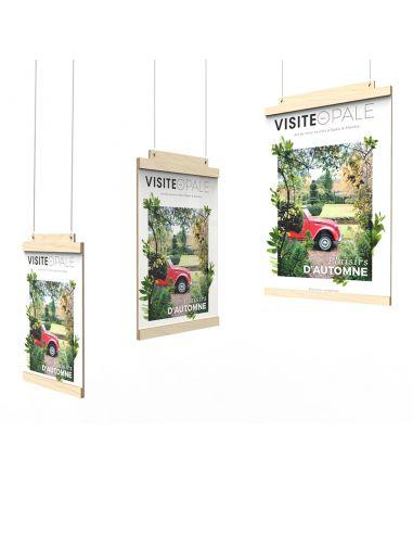 Front-facing display door with...