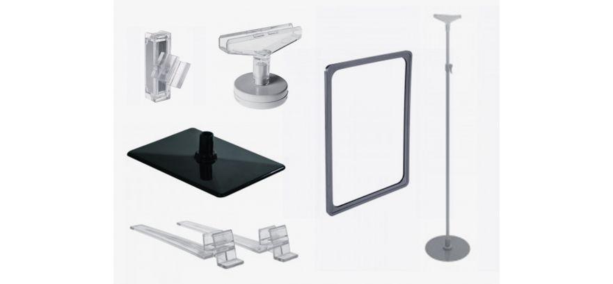 Cadres plastiques et accessoires